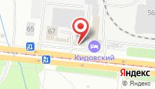 Гостиничный комплекс Кировский на карте