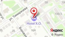 Отель Hotel X.O на карте