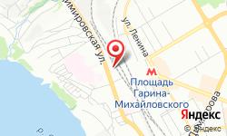 Расположение Новосибирская дистанция электроснабжения на карте