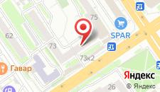 Гостиница На Плановой на карте