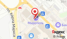 Бизнес-отель Миротель на карте