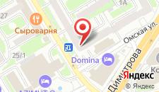 Хостел Деловой Новосибирск на карте