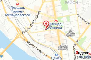 Адрес Автоводоканал-Новосибирск на карте