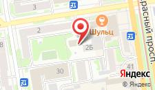 Отель Клуб Путешественников 2 на карте