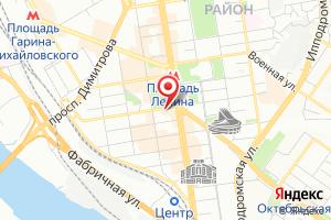 Адрес СибГИПроКоммунводоканал на карте