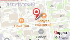 Хостел Горького85 на карте