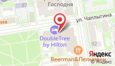 Отель Doubletree by Hilton на карте