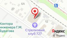 Гостиница Набережная на карте