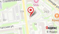 Апартаменты Апартаменты Domant на карте