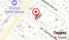 Отель Виктория Хаус на карте