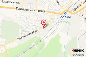 Адрес Инженерные коммуникации на карте