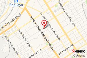Адрес АлтайТехСнаб на карте