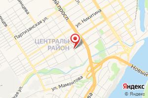 Адрес Барнаулгоргаз на карте