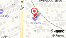 Гостиница Федоров на карте