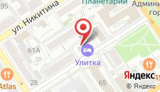 Отель Улитка на карте