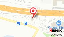 Отель Заречье на карте