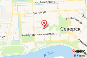 Адрес Аварийная служба Северского Водоканала на карте