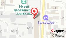 Отель Belvedere на карте