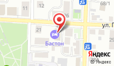 Отель Бастон на улице Герцена на карте