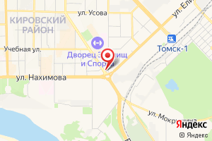 Адрес Томск водоканал на карте
