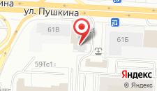 Хостел Пазл на карте