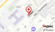 Гостиница Аскора на карте