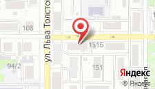 Отель Yoko на карте