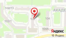 Гостиница Империал на карте