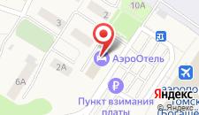 Гостиница Аэроотель на карте