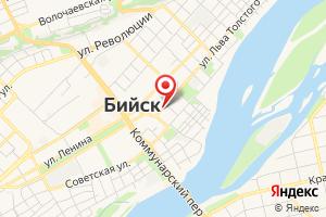Адрес Алтайэнергосбыт, территориальное отделение Бийское на карте
