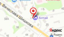 Гостиница Алтай на карте