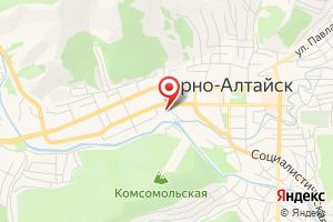 Адрес Газпром межрегионгаз Новосибирск, филиал в Алтайском крае, Абонентский пункт в г. Горно-Алтайск на карте