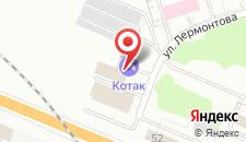 Гостиница Котак на карте