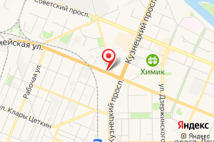 Адрес Газпром газораспределение Томск на карте