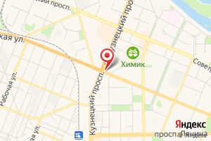 Адрес Газпром газораспределение Томск филиал в Кемеровской области на карте