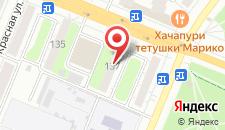 Апартаменты Квартира на Красноармейской 137 на карте
