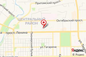 Адрес Газпром межрегионгаз Кемерово на карте