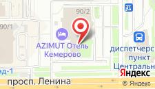 Отель Кристалл Де Люкс на карте
