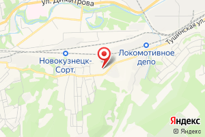 Адрес Эксплуатация шахтного водоотлива на карте