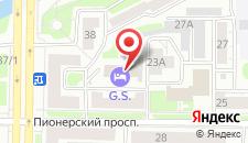 Отель G.S. на карте