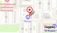 Гостиница Лотос на карте