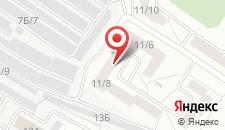 Апартаменты Always at home на Климасенко 11/9 на карте