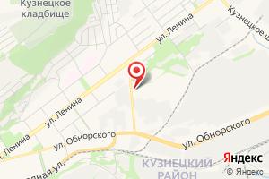 Адрес Кузнецкэнерго на карте