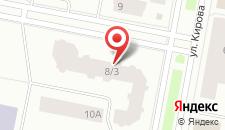 Апартаменты Севастопольская на карте