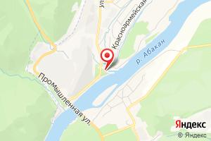Адрес Водозаборное сооружение ООО Абаза-Энерго на карте
