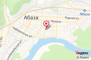 Адрес Абазагазсервис на карте