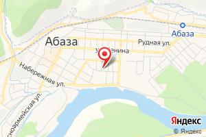 Адрес Абаза-Энерго на карте