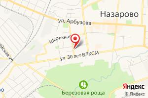 Адрес Назаровский Водоканал на карте