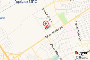Адрес Крайгаз на карте