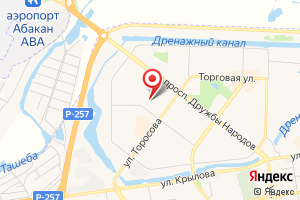 Адрес Абаканэнергосбыт на карте